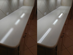 Corian Countertop Polishing