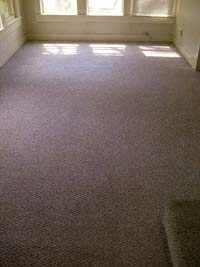 Berber carpet cleaning after.